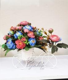 Hoa lụa, hoa giả Uyên shop, Xe đạp hoa trà