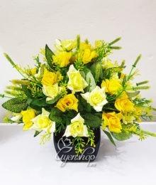 Hoa lụa, hoa giả Uyên shop, Hoa lụa – Hoa hồng nhí