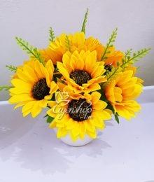Hoa lụa, hoa giả Uyên shop, Hoa lụa – Hoa hướng dương