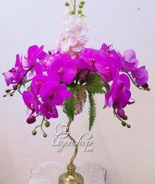 Hoa lụa, hoa giả Uyên shop, Hoa Lan nghệ thuật