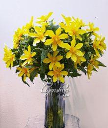 Hoa lụa, hoa giả Uyên shop, Sắc vàng Rực Rỡ