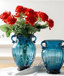 Hoa lụa, hoa giả Uyên shop, Lọ hoa thủy tinh