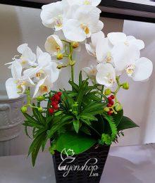 Hoa lụa, hoa giả Uyên shop, Vẻ đẹp sang trọng