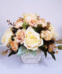 Hoa lụa, hoa giả Uyên shop, Sắc màu phương tây