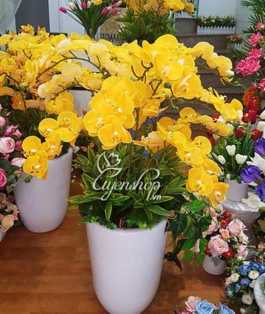 Hoa lụa, hoa giả Uyên shop, Bình Lan Lớn