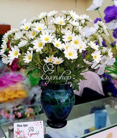 Hoa lụa, hoa giả Uyên shop, Đẹp nhẹ nhàng với Cúc Họa Mi