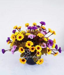 Hoa lụa, hoa giả Uyên shop, Hoa Cúc Nhí