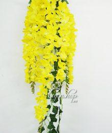 Hoa lụa, hoa giả Uyên shop, Lan Đỗ quyên vàng