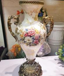 Hoa lụa, hoa giả Uyên shop, Bình hoa Tân Cổ Điển
