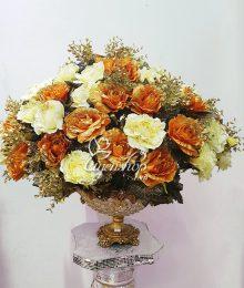 Hoa lụa, hoa giả Uyên shop, Thuyền Hoa May Mắn Cỡ lớn