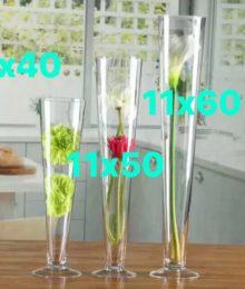 Hoa lụa, hoa giả Uyên shop, Ly thủy tinh sự kiện