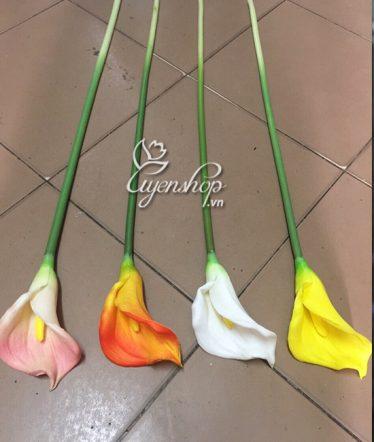 Hoa lụa, hoa giả Uyên shop, Cành Rum cao su