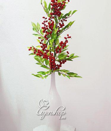 Hoa lụa, hoa giả Uyên shop, Lọ dài nghệ thuật