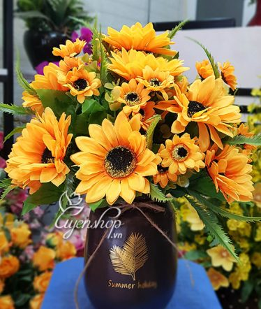 Hoa lụa, hoa giả Uyên shop, Hoa Hương Dương