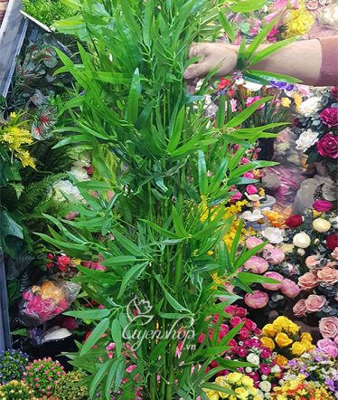 Hoa lụa, hoa giả Uyên shop, Cành Trúc giả cao 1m50