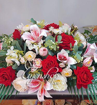 Hoa lụa, hoa giả Uyên shop, Hoa bàn họp nổi bật