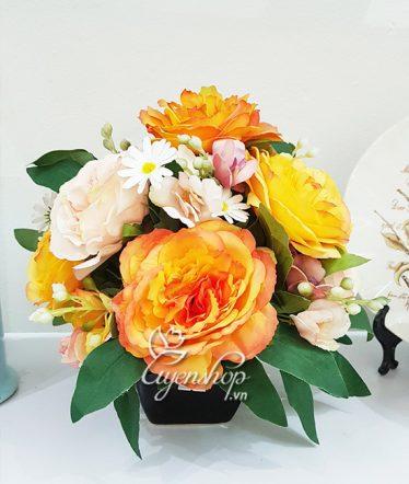 Hoa lụa, hoa giả Uyên shop, Nổi bật cùng Hoa Trà