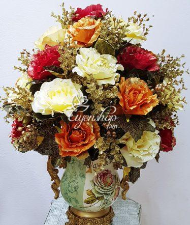 Hoa lụa, hoa giả Uyên shop, Phong cách Châu Âu