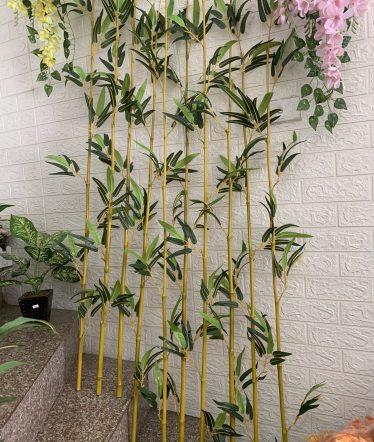 Hoa lụa, hoa giả Uyên shop, Cây Trúc Thân Vàng
