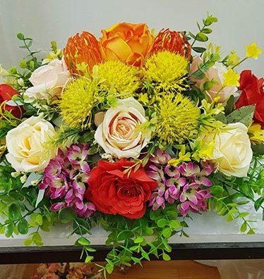 Hoa lụa, hoa giả Uyên shop, Lãng hoa Bàn Họp