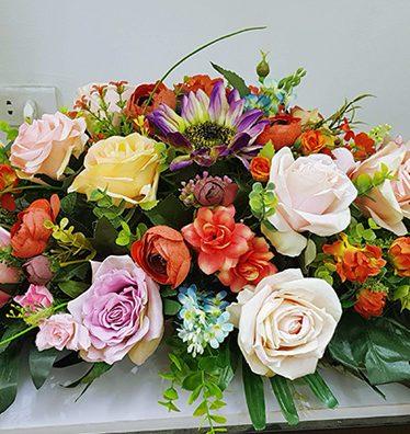 Hoa lụa, hoa giả Uyên shop, Hoa bàn họp, hội nghị