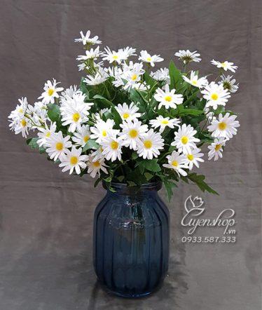 Hoa lụa, hoa giả Uyên shop, Cúc Họa Mi