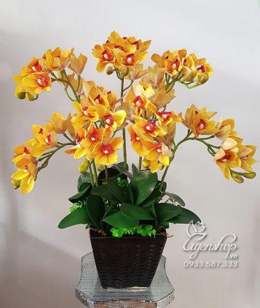 Hoa lụa, hoa giả Uyên shop, Địa Lan Sang Trọng