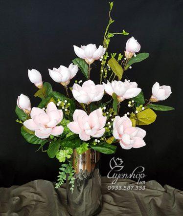 Hoa lụa, hoa giả Uyên shop, Nghệ thuật hoa Mộc Lan