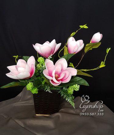 Hoa lụa, hoa giả Uyên shop, Hoa Ngọc Lan
