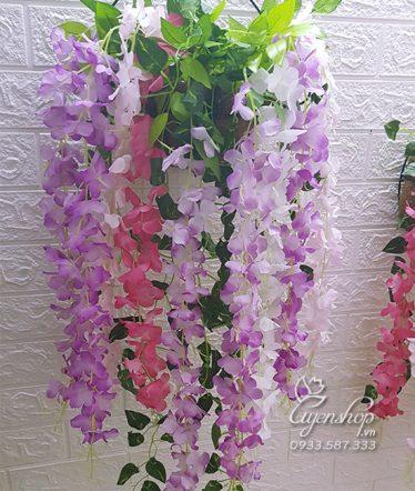 Hoa lụa, hoa giả Uyên shop, Hoa Rủ Bồ Công Anh
