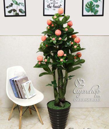 Hoa lụa, hoa giả Uyên shop, Cây Đào Tiên