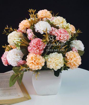 Hoa lụa, hoa giả Uyên shop, Hoa Tú Cầu xinh