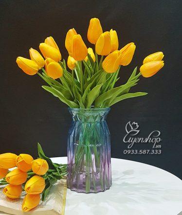 Hoa lụa, hoa giả Uyên shop, Kiêu sa cùng Tulip
