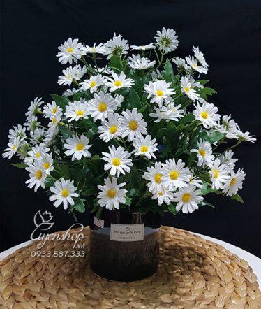 Hoa lụa, hoa giả Uyên shop, Xinh xinh với Cúc Họa Mi