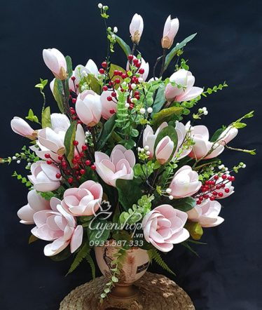 Hoa lụa, hoa giả Uyên shop, Mộc Lan Sang Trọng