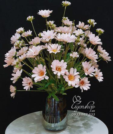 Hoa lụa, hoa giả Uyên shop, Họa Mi Hồng Xinh