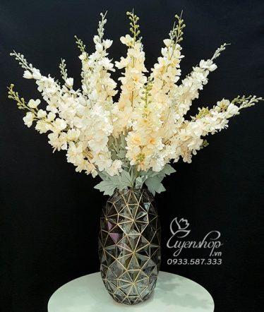 Hoa lụa, hoa giả Uyên shop, Vẻ đẹp cùng Hoa Phi Yến