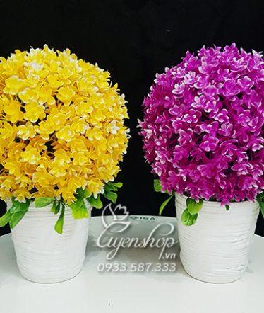 Hoa lụa, hoa giả Uyên shop, Cây Tú Cầu To