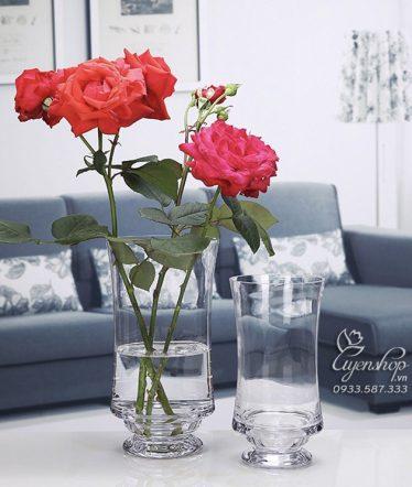 Hoa lụa, hoa giả Uyên shop, Ly Thủy Tinh