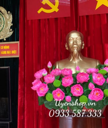 Hoa lụa, hoa giả Uyên shop, Hoa Lụa – Hoa Tượng Bác