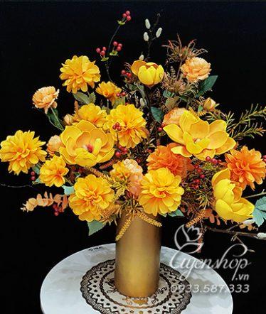 Hoa lụa, hoa giả Uyên shop, Hoa Lụa – Hoa Nghệ Thuật